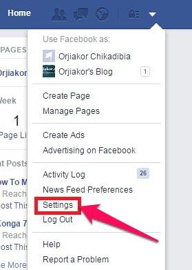 Change Name On Facebook 2 - AfriElect