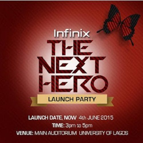 get an invite to Infinix launch