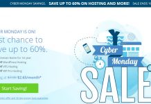 Bluehost Black Friday & Cyber Monday