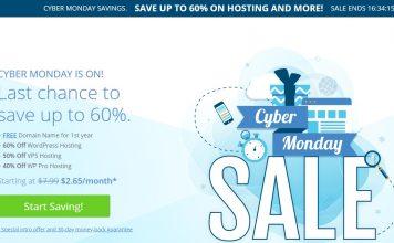 Bluehost Black Friday & Cyber Monday